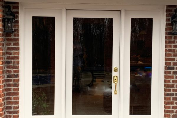 Therma Tru Entry Door with Sidelights