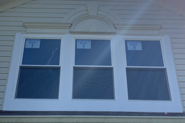 Double Hung Windows with Extra Wide Aluminum Wrapping