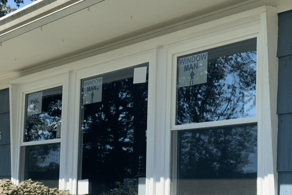 Picture Window With 2 Double Hung Windows On Each Side