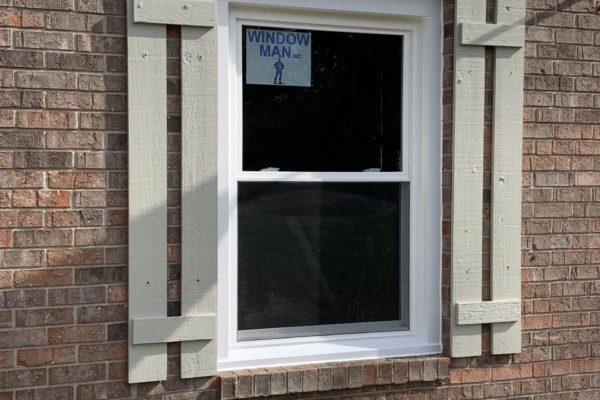 Double Hung Window with Low-E & Argon Gas for Energy Efficiency