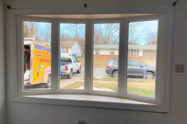 Inside Picture of a New Bay Window