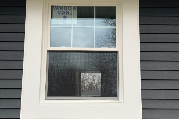 Double Hung Window with Wide Wrap