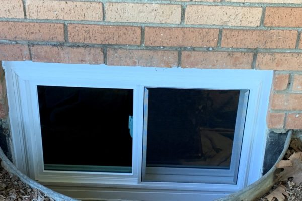 Sliding Basement Window