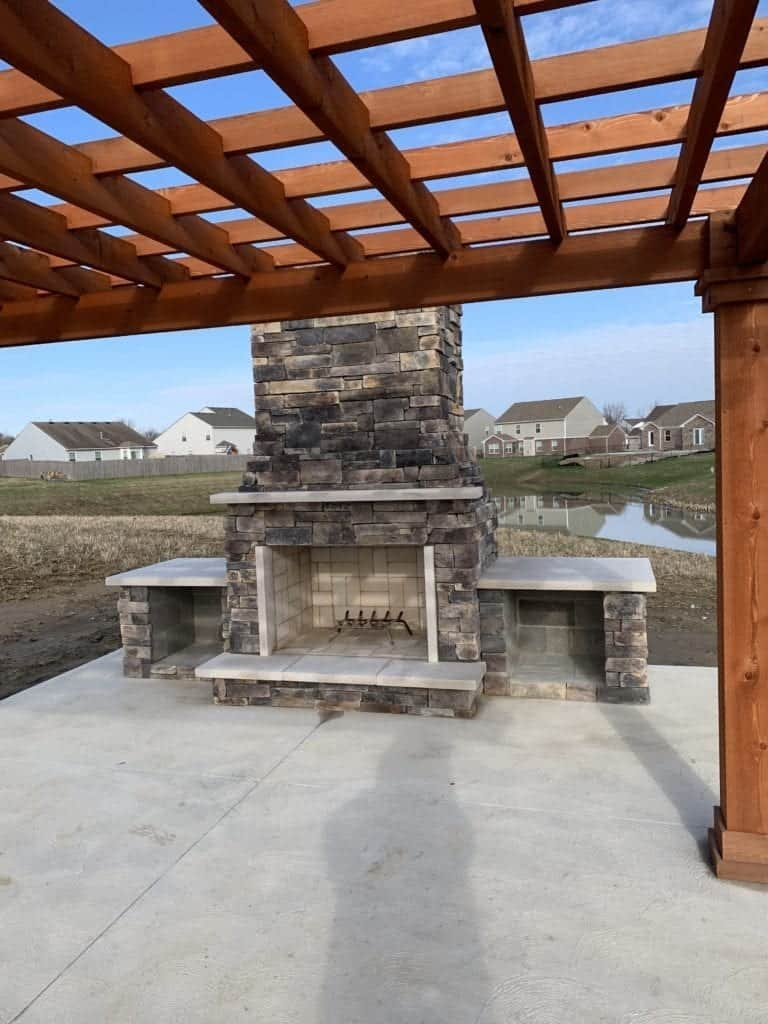 Outdoor Fireplace Greenwood, IN